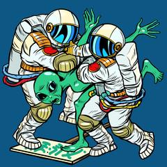 Storm Area 51. Astronauts arrested an alien