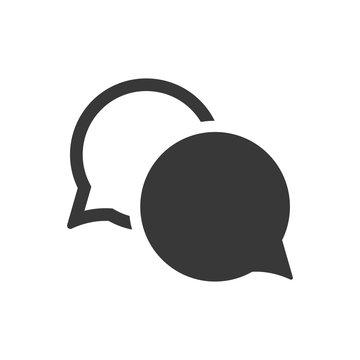 Simple conversation icon