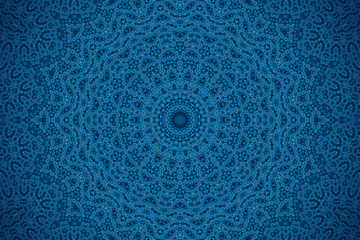Blue background with abstract pattern
