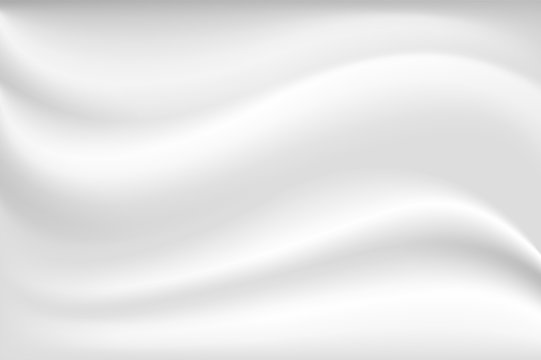 Cream wave texture in white color