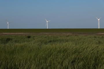 windmill on the northsea coast