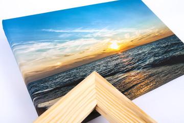 Fotoobraz, Canvas, Obraz zachód słońca