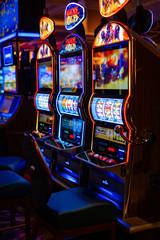 Foto op Canvas Las Vegas casino hall. Las Vegas