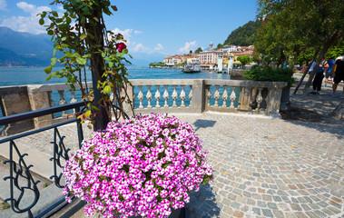 BELLAGIO, ITALY, JUNE 19, 2019 - View of Bellagio, a small village on Como lake, Italy.