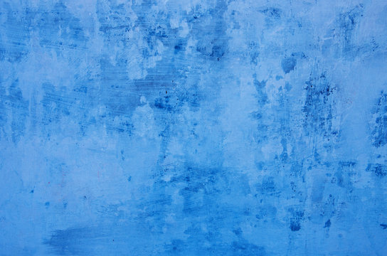 old blue wall background texture