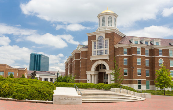 Doak Walker Plaza and Armstrong Commons at Southern Methodist University