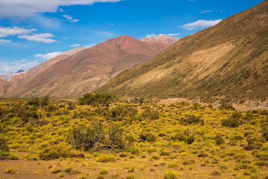 Andes near Las Lenas