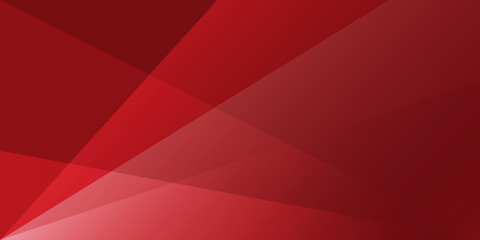 abstract  red background with white transparent layers
