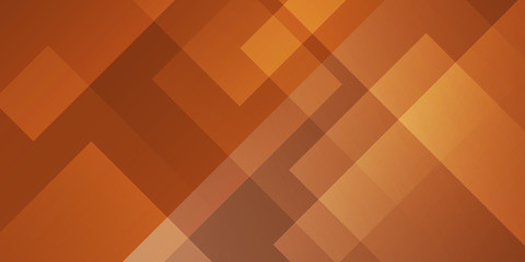 abstract  brown background square shapes in transparent design Wall mural