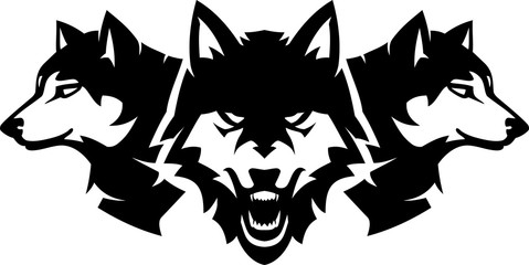 Wolfpack, Wild and Fierce Wolves