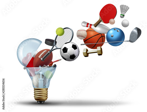Wall mural Sport Activity Idea