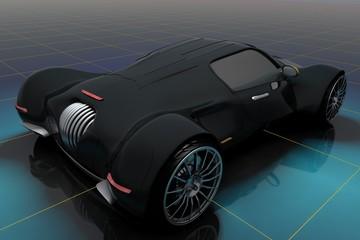 Wall Mural - Model cars.