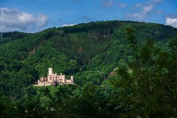 View of the castle Stolzenfels