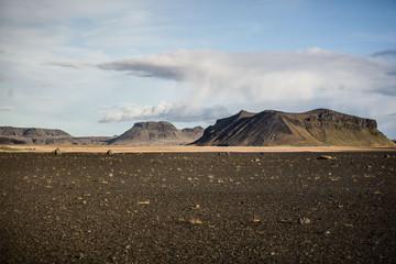 desert volcanique en islande