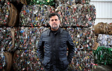 Director Ulises de la Orden poses for a picture at the state entity CEAMSE, in the neighborhood of Jose Leon Suarez, on the outskirts of Buenos Aires