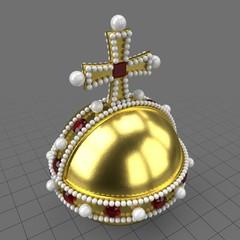 Royal globus cruciger