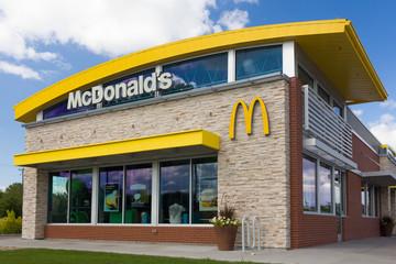 Contemporary McDonald's Restaurant Exterior