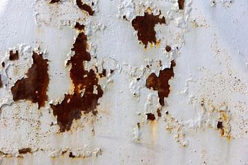 rusty metal sheet - surface texture