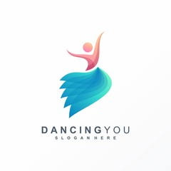 dancing logo ready to use