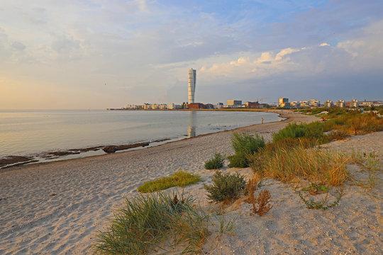 Malmö City Panorama Beach