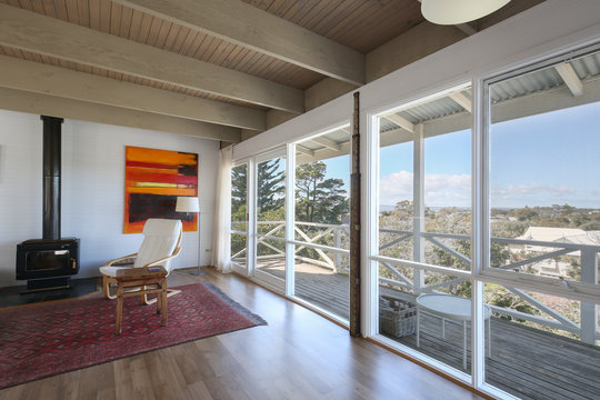 Living room with a view