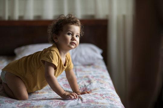 Portrait of 1 year old boy