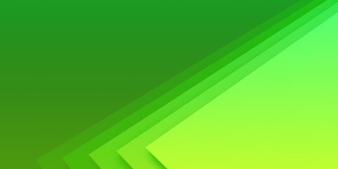 Wall Murals Abstract wave Beautiful Green Abstract Background