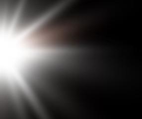 Foto op Textielframe Licht, schaduw white lowing light