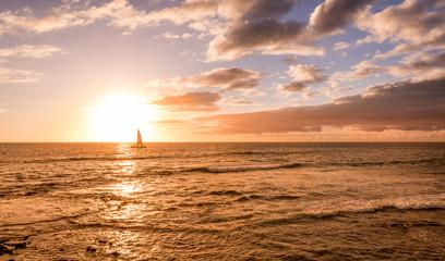 Amazing Sunset in KPC big island HAWAII