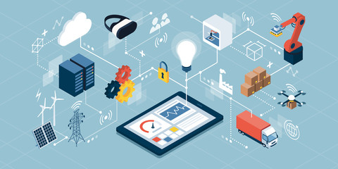 Industrial internet of things and innovative manufacturing