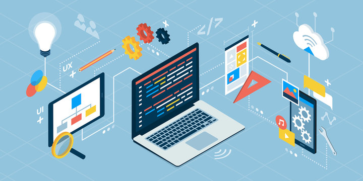 App development and IT technology