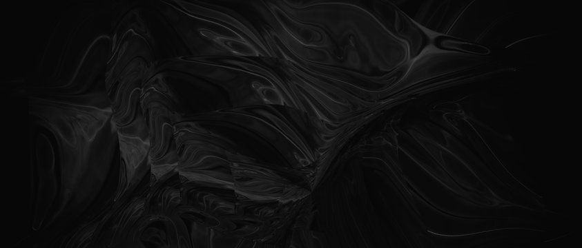Abstract liquid background. Digital art abstract pattern.