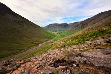 The mountains of Wasdale Head