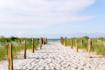 Weg zum Strand, Ostsee
