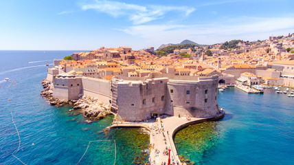 The Old Port of Dubrovnik