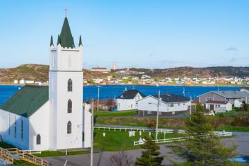Skyline of Twillingate, Newfoundland, Canada