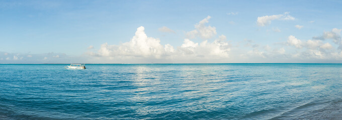 Wall Mural - South Sea panorama, Pacific Ocean, French Polynesia