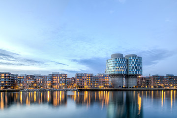 Portland Towers in Nordhavn district in Copenhagen