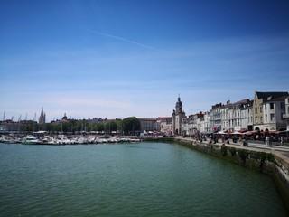 By the water in La Rochelle, France