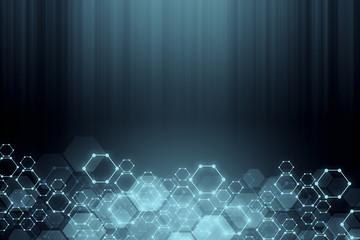 Fotobehang - Creative grey background