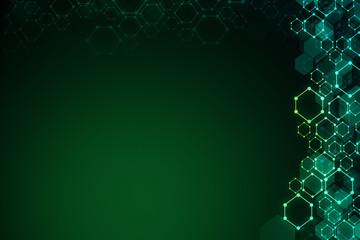 Creative green background
