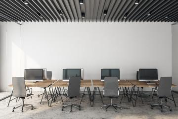 Modern coworking officeinterior