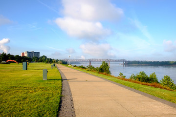 Tom Lee Park in Downtown Memphis, Tennessee