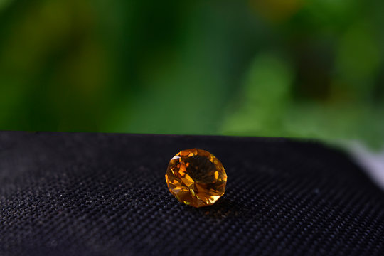 yellow sapphire Is a beautiful, rare and expensive yellow gemstone