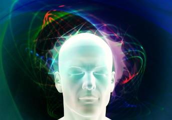 Brainwave Psychology concept.