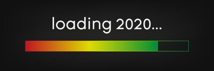 Ladebalken bunt 2020