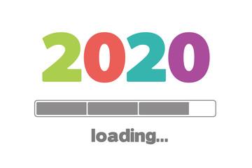2020 bunte Karte