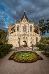 St. Barbara's Cathedral in Kutna Hora, Czech Republic