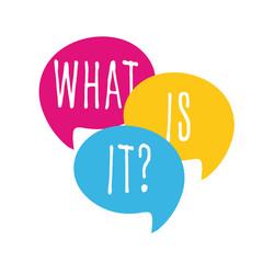 Obraz What is it ? - fototapety do salonu