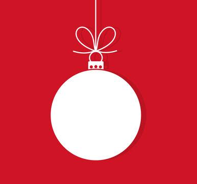 Christmas ball hanging ornament